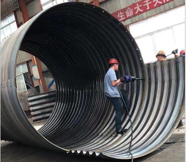 high quality hot dip galvanized steel culvert