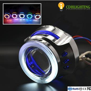Wholesale 3.0 Inch Angel Eyes Bi XenonHID Projector Lensfor vehicles