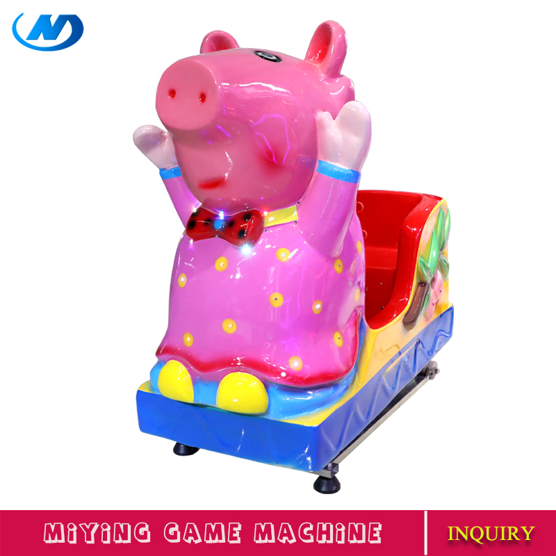 MIYING peppa pig girls kiddie ride children ride on toys game machines for children