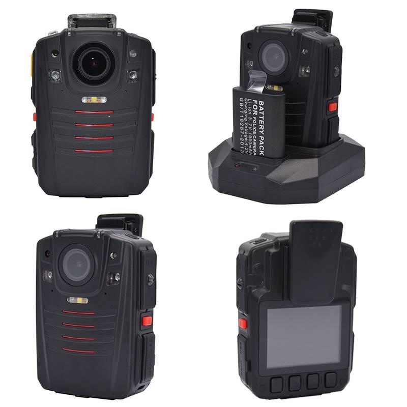 Ambarella A7 Chipset Professional waterproof WIFI GPS law enforcement camera recorder