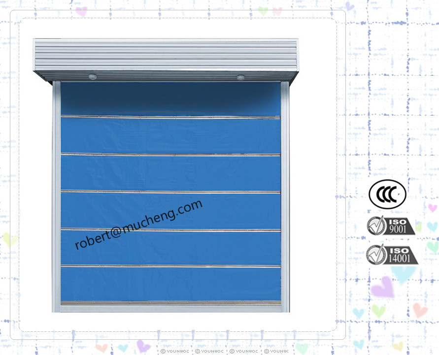 Warehouse Industrial Automatic Fire Rated Rolling Shutter Door