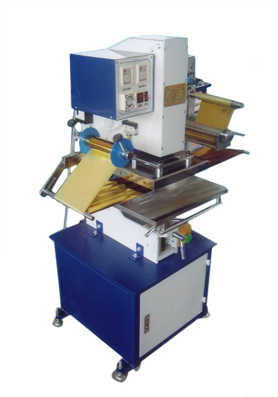 Pneumatic semiautomatic hot stamping machine