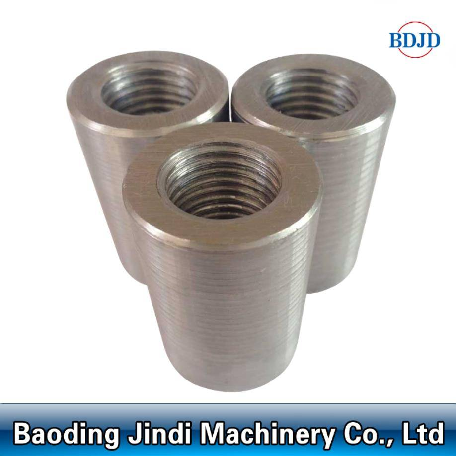 building material parallel couplers rebar mechanical splicing coupler