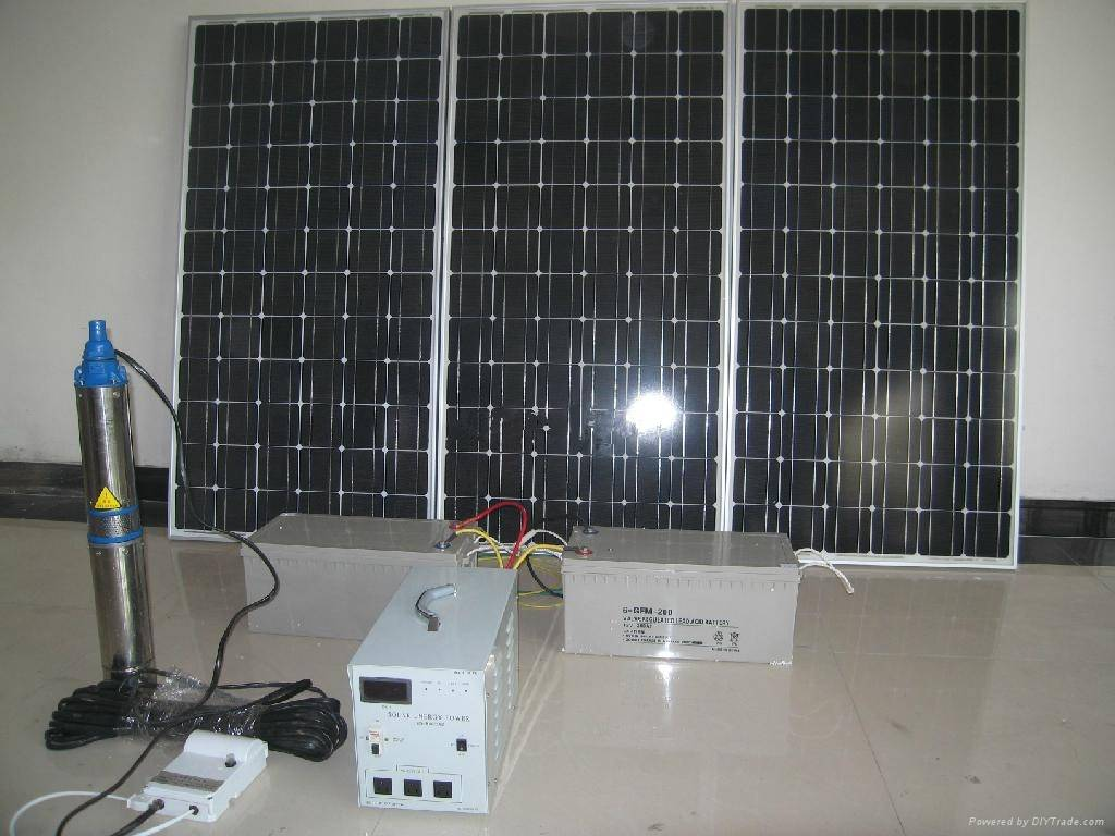 solar pumps for deep wells solar river water pump