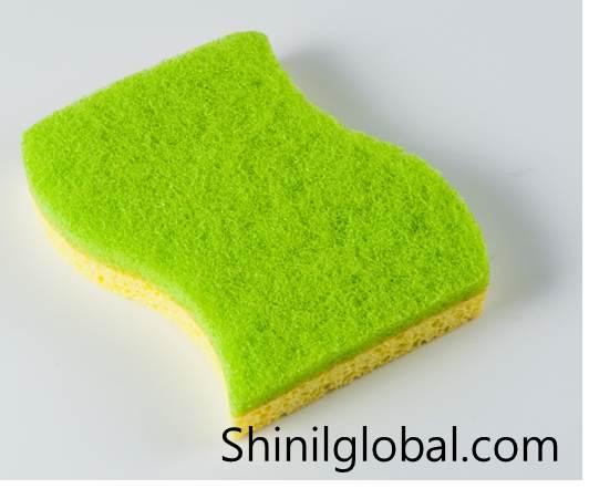 Cellulose Scouring pad Sponge