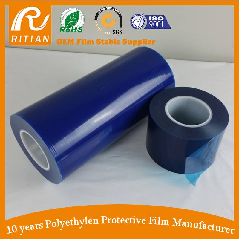 Ritian Hot Sale Blue Surface Protective Film Free Sample