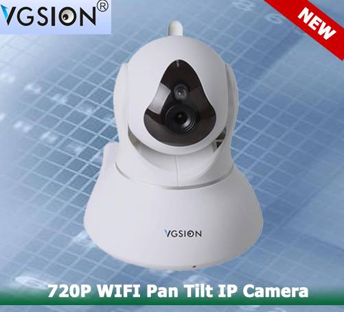720P WIFI Pan Tilt IP Camera