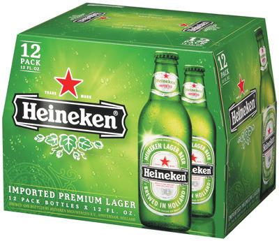 Dutch Heinekens, Paulaner, Becks Gold, Leffe,