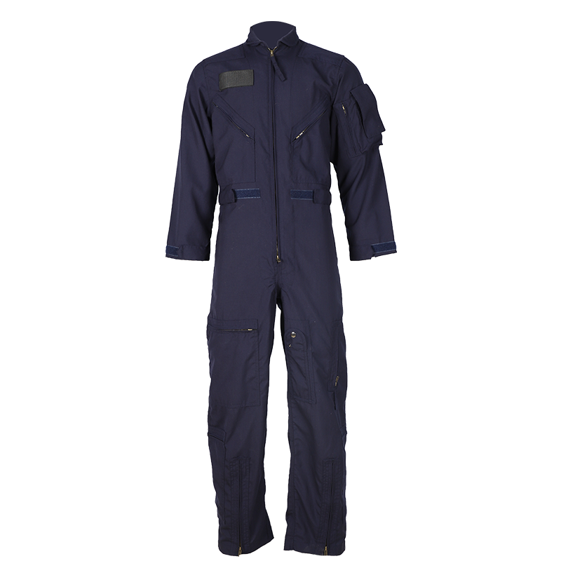 Multi-functional flame resistant and heat resistant flight coveralls