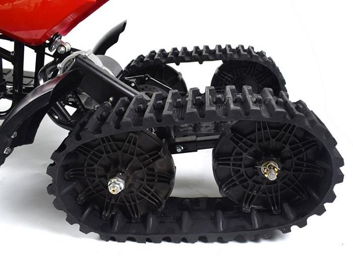 small electric snowmobile rubber track