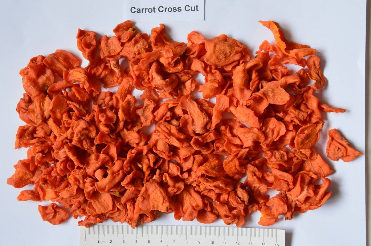 dried/dehydrated/AD carrot cross cut