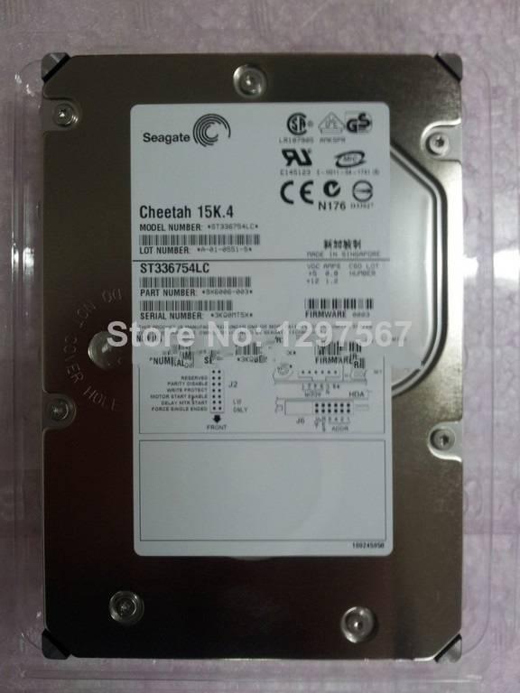 Original ST336754LC 36G 15K4/80 /U320 SCSI HARD DISK