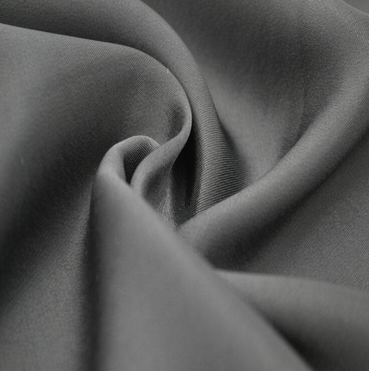 Polyester 50D Dull Twisted Satin Fabric 80 gsm, 60 inch width