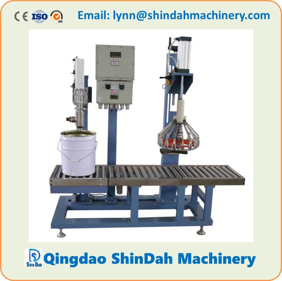Paint Filling Machine, Liquid Filling Machine for Paint/Coatings