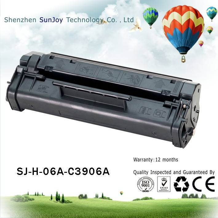 Sunjoy 06A toner cartridge C3906A compatible for HP Laserjet 5L 6L LJ3100 LJ3150