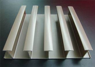 Silver Industrial Aluminium Extrusion Profile For Loading Container