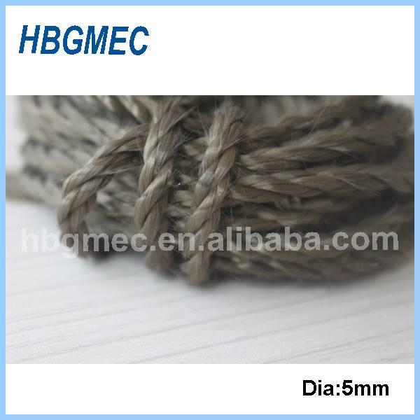 Fire protection basalt fiber rope