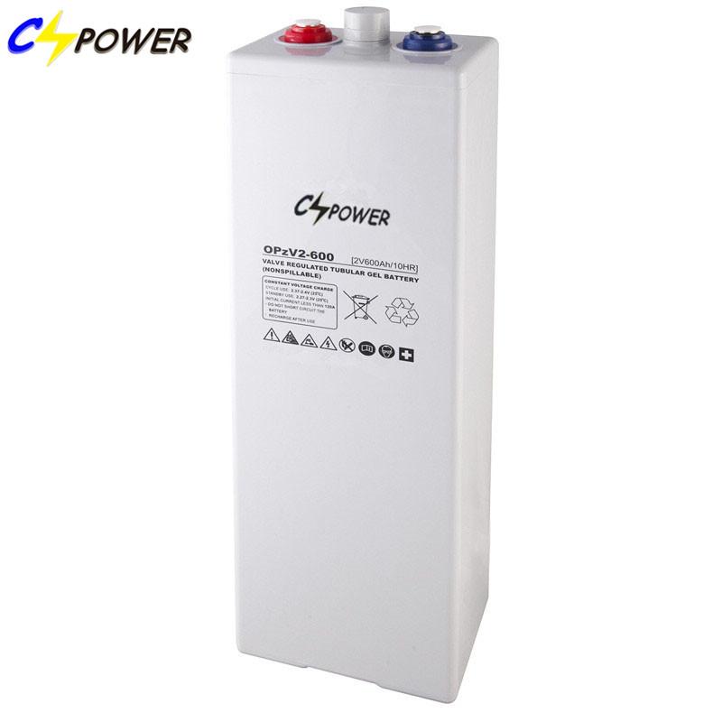 OPzV2-600 Manufacturer Opzv 2V/600ah Tubular Plate Gel Battery with Super Reliability