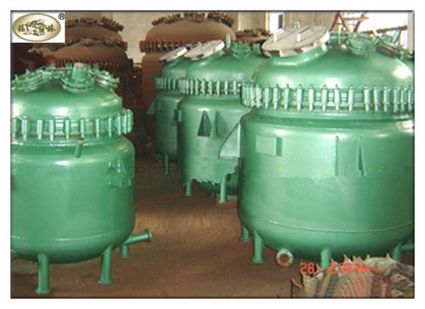 Glass Lined Chemical Reactor