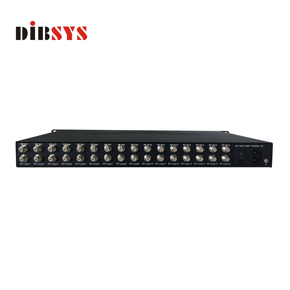 super sale 16 channel FTA Tuner to IP Gateway-IRD1518 Plus