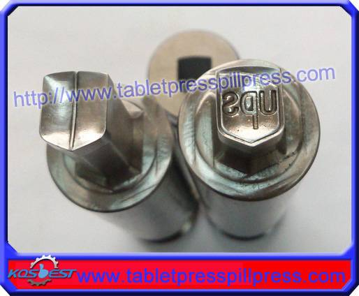 UPS 9*10mm Stamp Pill Die Set for ZP9 Rotary Tablet Press Machine