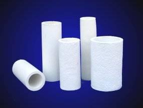 Ceramic fiber-Insulating Riser Sleeve