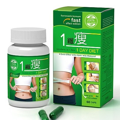 Diet Supplement Slimming Formula for Lose Weight One 1 DAY DIET capsule