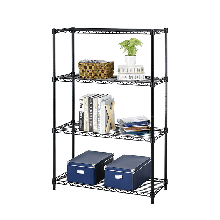Stainless Steel Storage Rack Customized Adjustable Stainless Steel Shelf Wire Shelving for Restaura