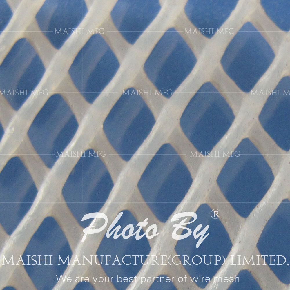 Flexible Plastic Mesh Netting For precision parts protect