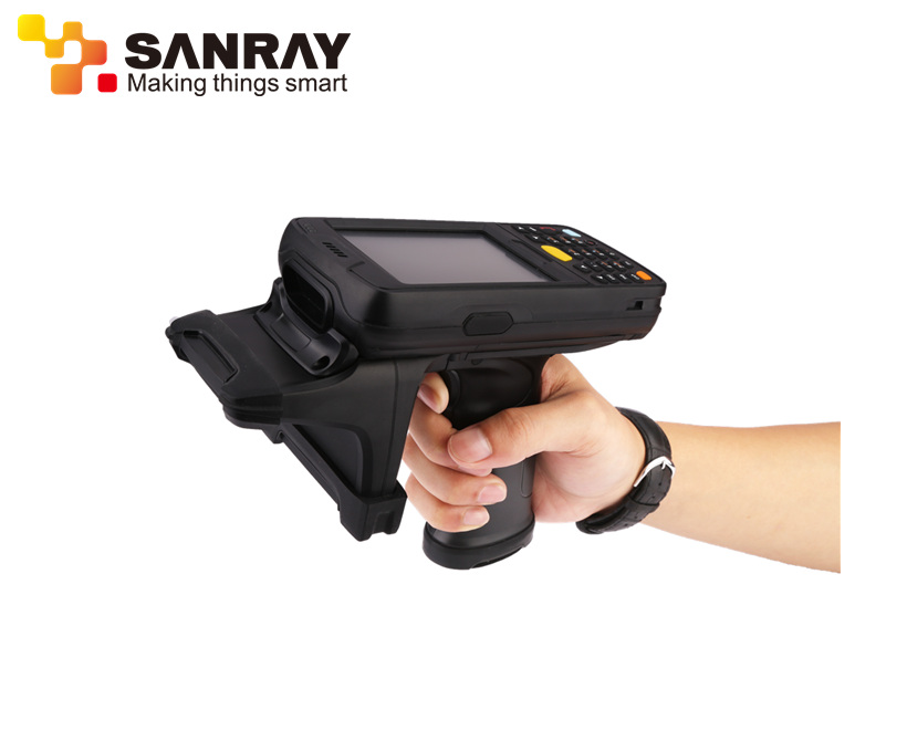 2.45Ghz Active Handheld Mobile Bluetooth RFID Reader for Logistics and Warehouse Management