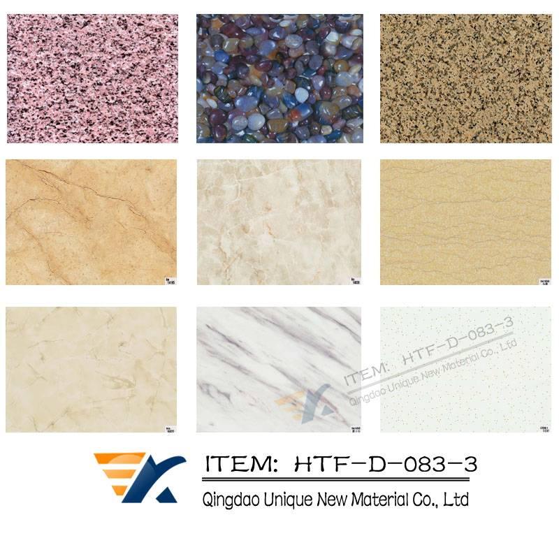 Glass heat transfer foil, Wood grain transfer foil,WPC transfer foil, floor transfer foil