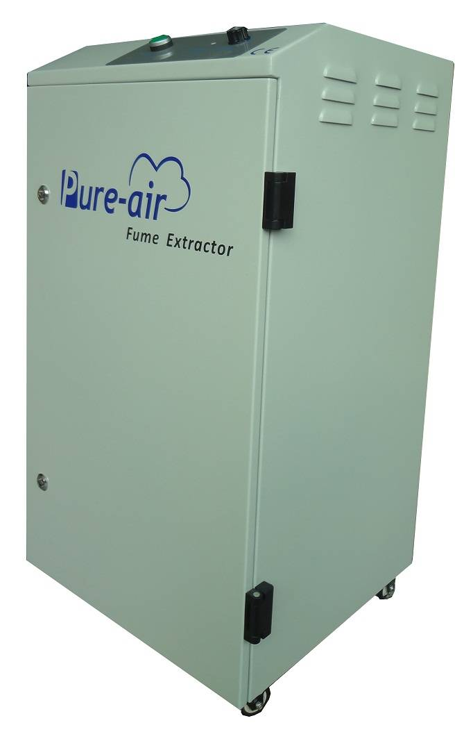 Air Extractor For Industrial Fume Filtration