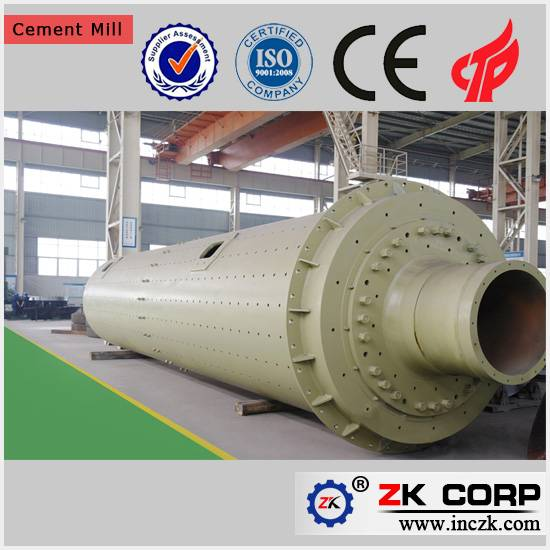 Dry or Wet Grinding Ball Mill with Open Circuit