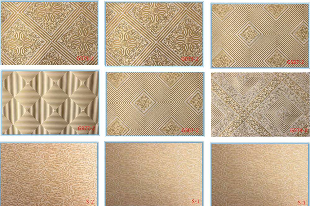 Gypsum Ceiling Lamination PVC Film (gypsum ceiling film)