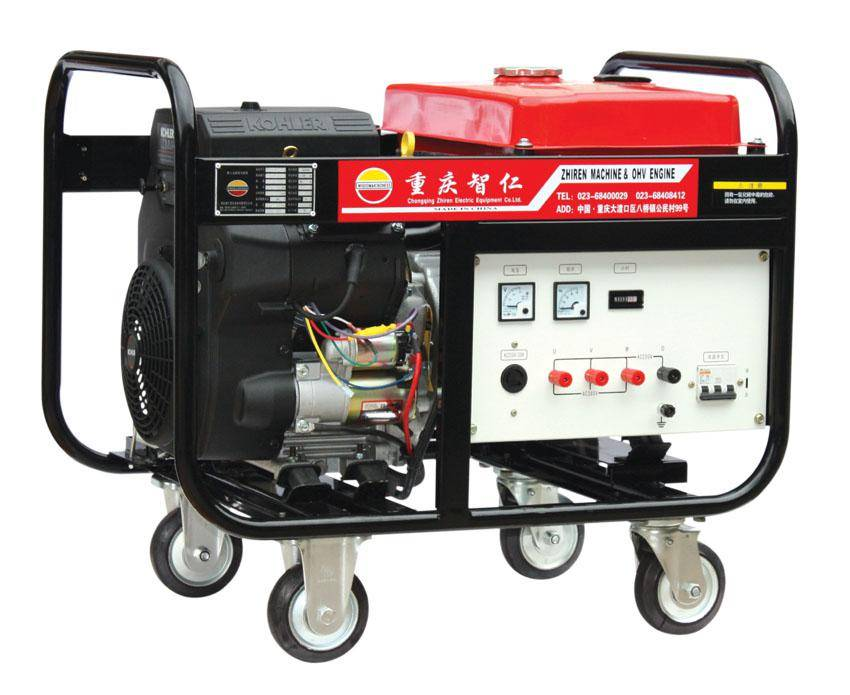 12 KW Electric Start Brushless Air-cooled Portable Rare Earth Permanent Magnet Gasoline Generator IM