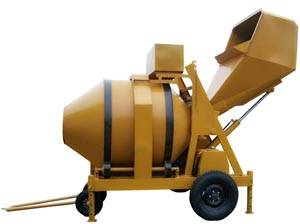 750L Diesel Concrete Mixer with hydraulic tipping hopper