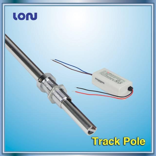 Track pole for Showcase LED Track Lights