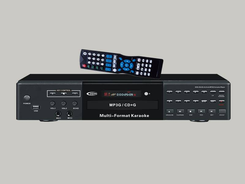 HDMI karaoke player with Ripping & USB/SD record function