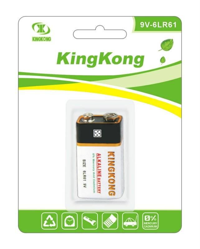 Carbon battery KK-6F22-KA1B