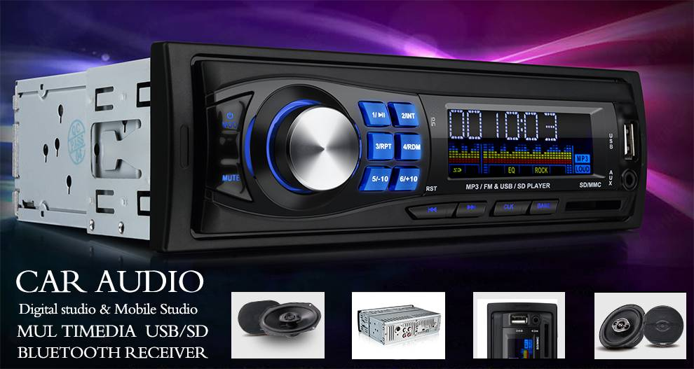 SUO HANG T-15  Car MP3 player with EQ Function