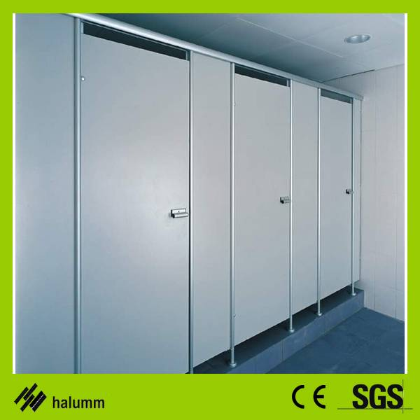 halumm HPL compacted hpl board water proof toilet cubicle