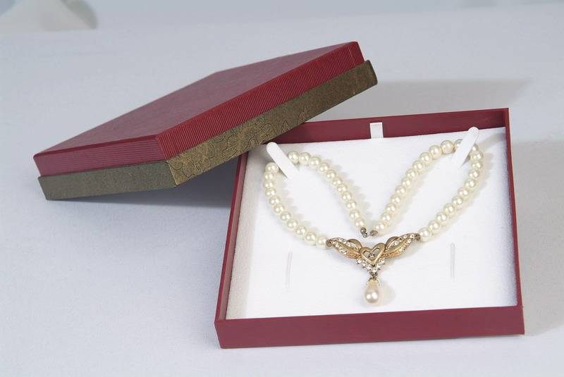 Best sale jewelry packaging necklace boxes