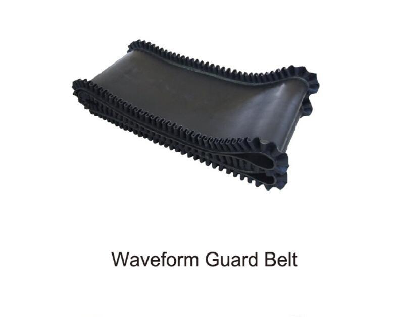 waveform guard belt of mixing plant