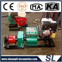 High Quality Stringing Equipment Diesel Engine Winch