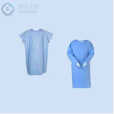 ISO , CE , FDA Certificate Factory Protective clothing disposable non woven Isolation  Gown