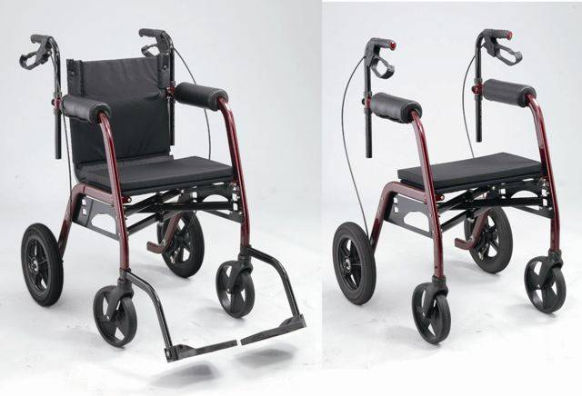 2 in 1 Rollator GMP-FW4BS