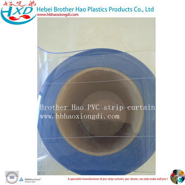 Nylon Thread Clear Flexible Plastic PVC Vinyl Door Strip Curtain