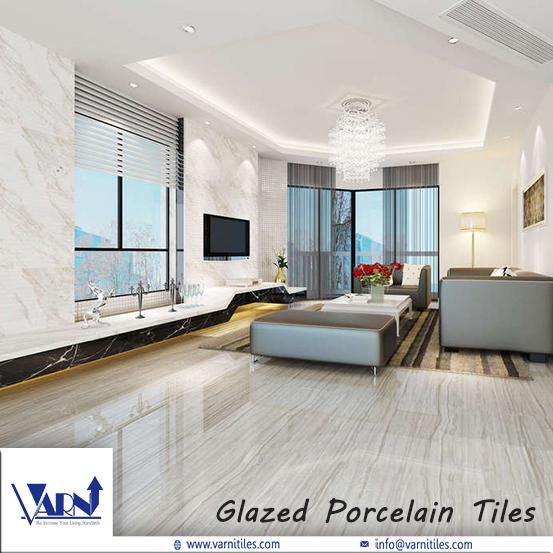 Glazed Porcelain Vitrified Tiles - Varni Tiles