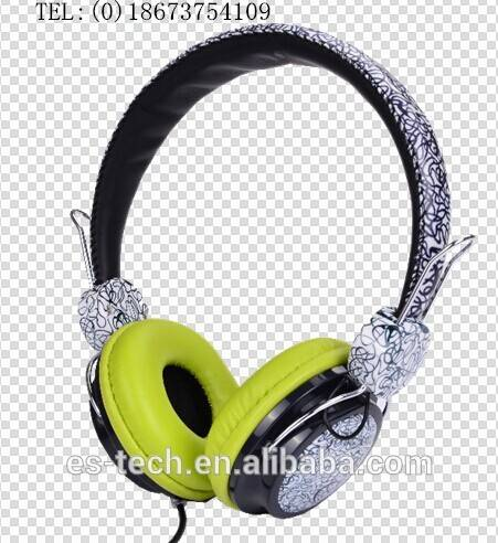 China traditional headphone with blue and white porcelain design