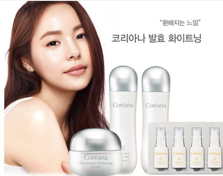 Coreana Fermentation Whitening Set(Skin Care)